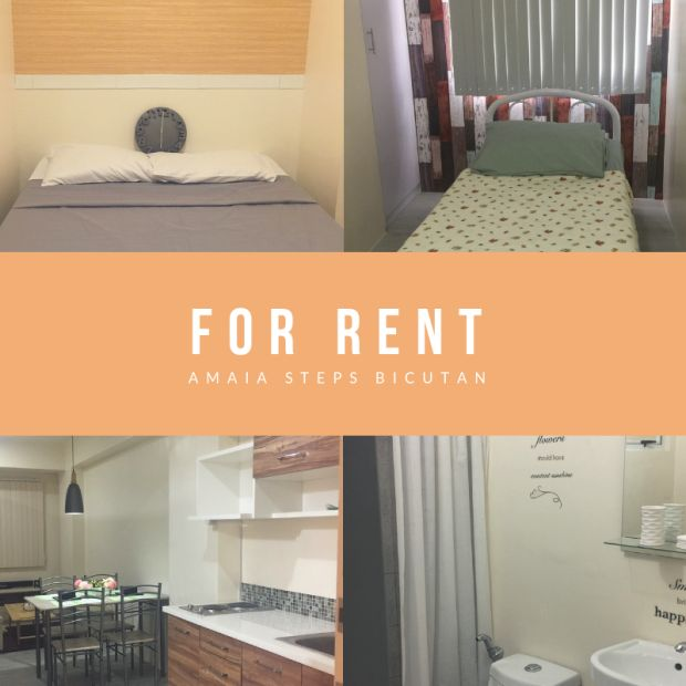 Brand New 2 Bedroom Unit For Rent At Amaia Steps Bicutan