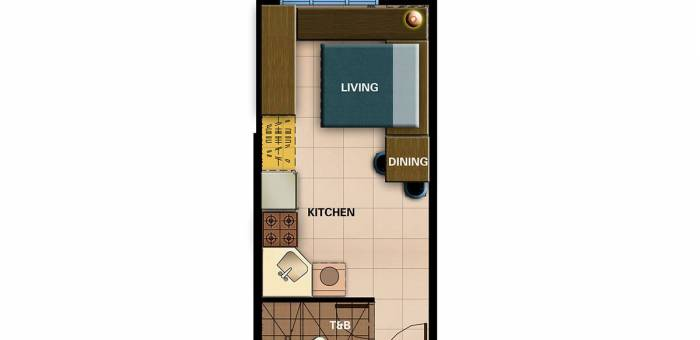 Move In Ready Stuio Unit Avida Prime Taft Tower 2