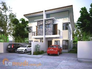 Duplex Homes with Enough Space for Two Cars