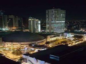 Araneta Coliseum As the View from Your Studio Type