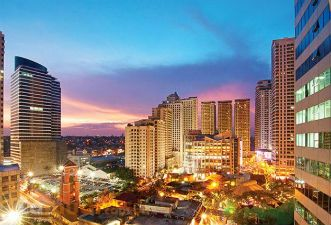 Eastwood City in Libis, Quezon City