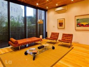 Floor to Ceiling Windows in the Living Room