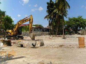 Vacant Lot Ready for Construction