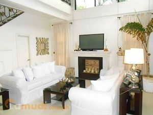 White Makes Your Living Room Look More Spacious