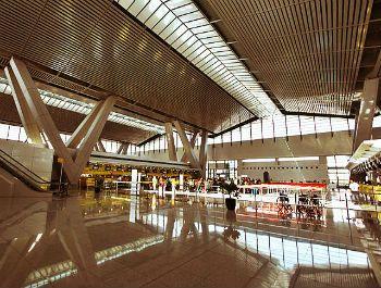 Interiors of NAIA