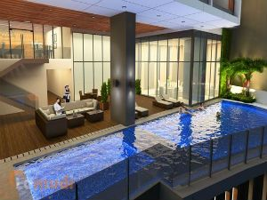 A Luxury Apartment with Own Pool