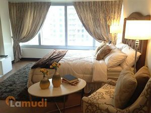 Spacious Bedroom with a View of the Makati CBD