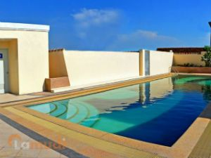 Enjoy the Rooftop Pool with a View of Taguig and Makati